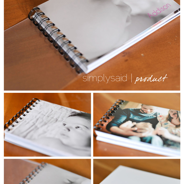 simply said product | 5X7 proof book