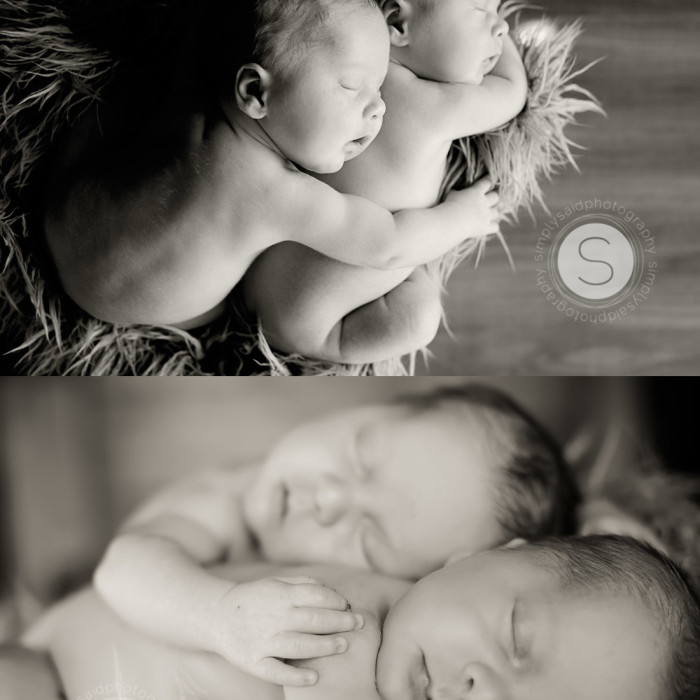 brothers forever {Paris Ontario, twin newborn photography}