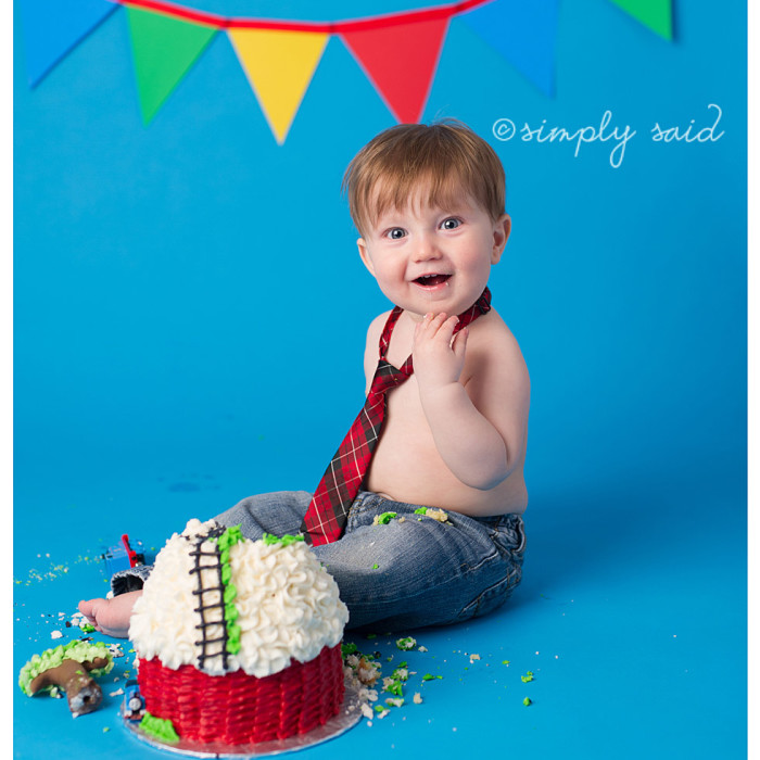 Oliver Turns One! { London Ontario Baby Photographer }