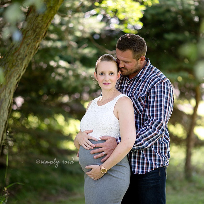Tender Love { London Ontario | Maternity Photography }