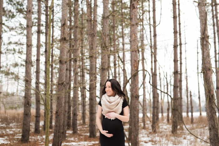 Ryan + Lyndsey { Simcoe Ontario Maternity Photographer }